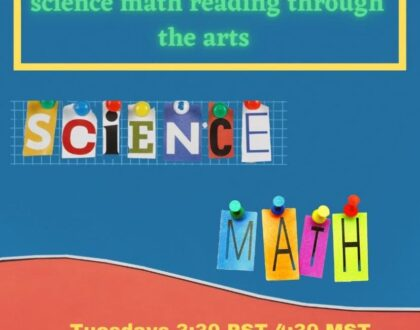 """Science, Math & Reading Through the Arts """"SMRarts"""""""